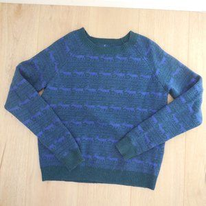 Levi's Knitted Reindeer Christmas / Winter Sweater
